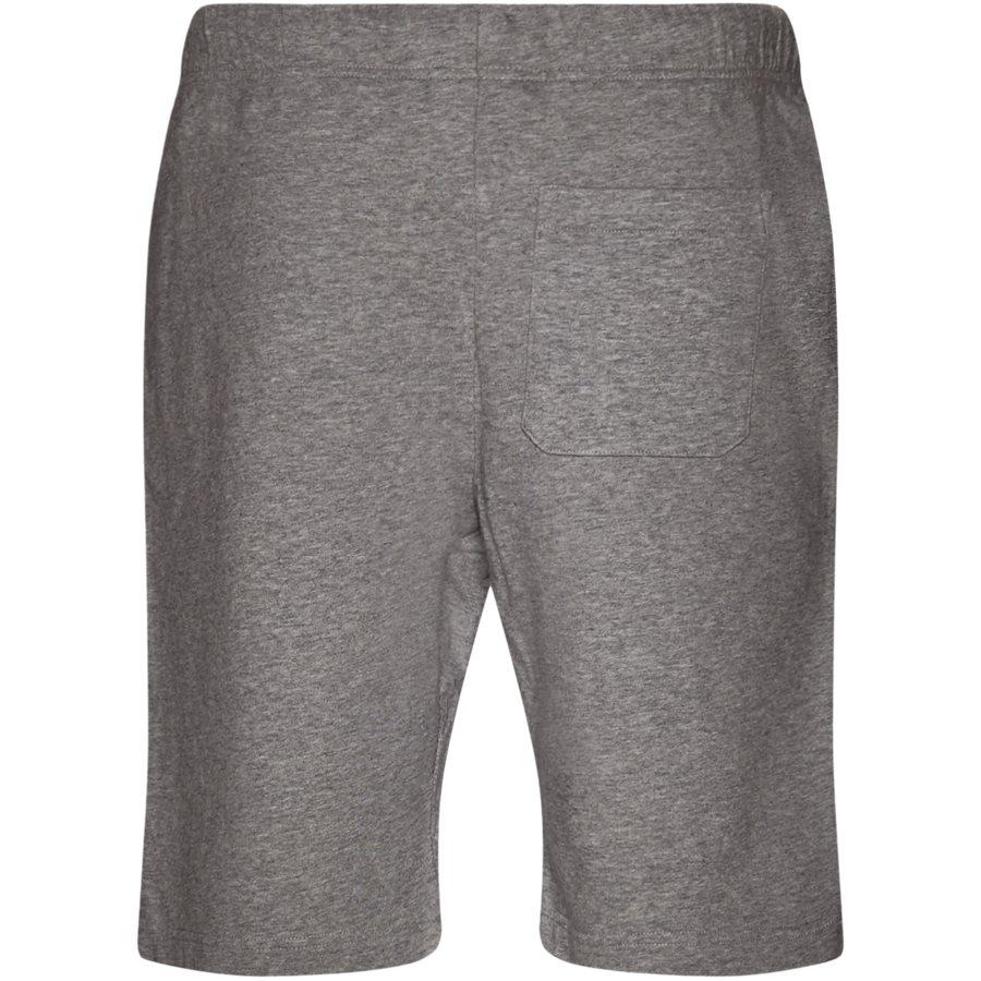 COLLEGE SWEAT SHORT. I024673 - College Sweat Shorts - Shorts - Regular - GREY HTR/WHITE - 2